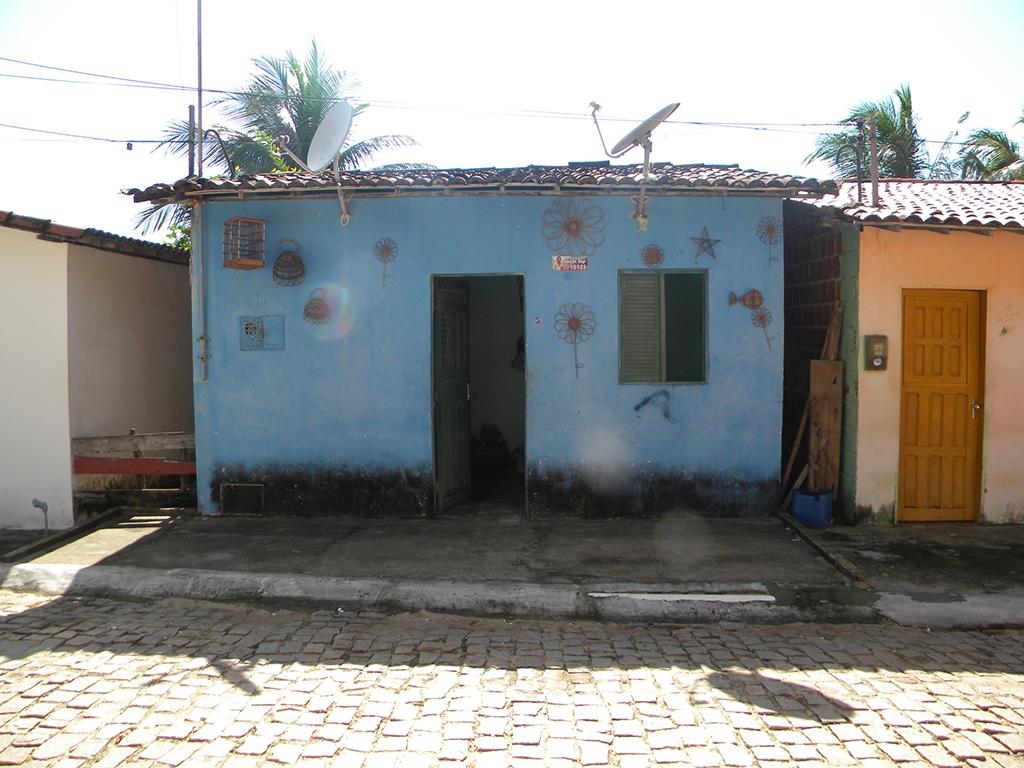 Casa típica da vila.