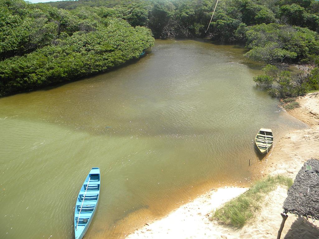 Rio Grajau traça o limite entre o Rio Grande do Norte e a Paraíba.