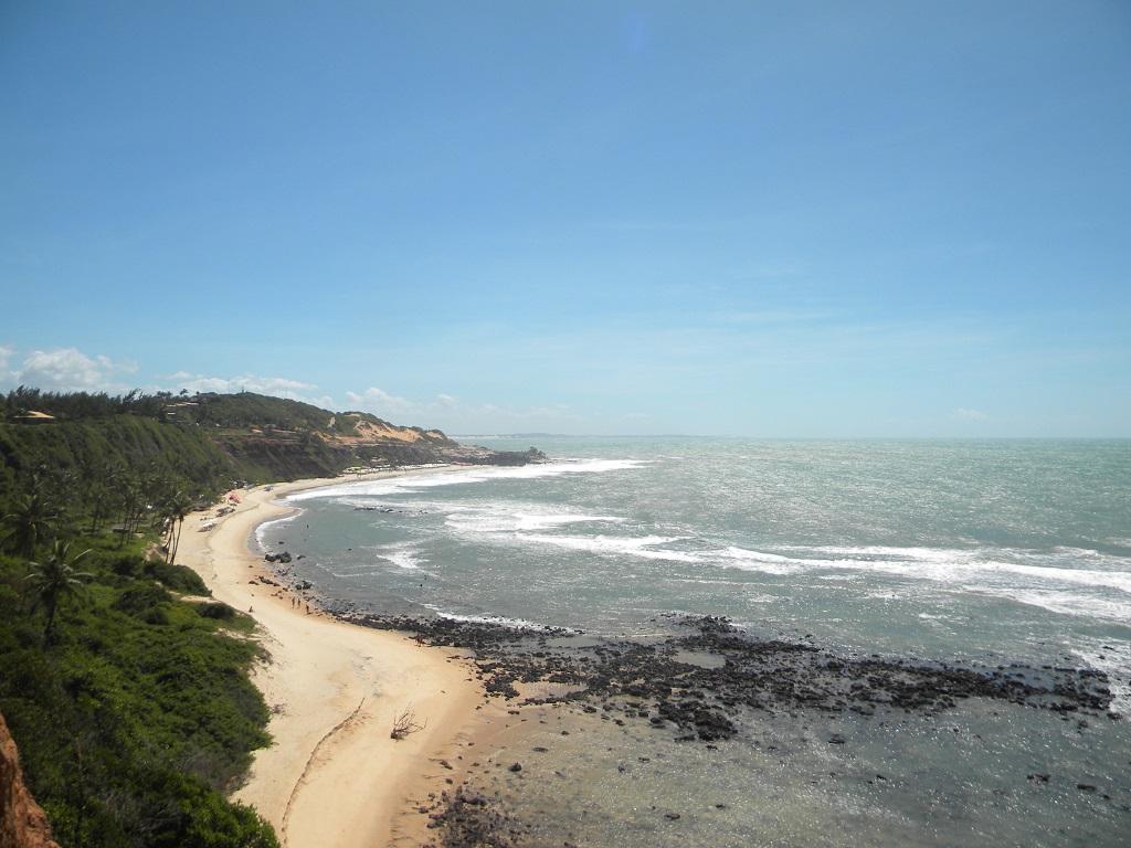 Vista geral de Barra do Cunhaú