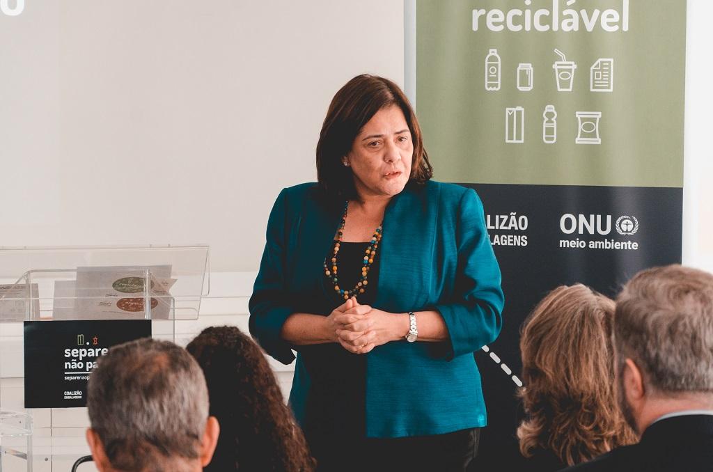 Denise Hamú, representante da ONU Meio Ambiente - Foto Wilk Nobre