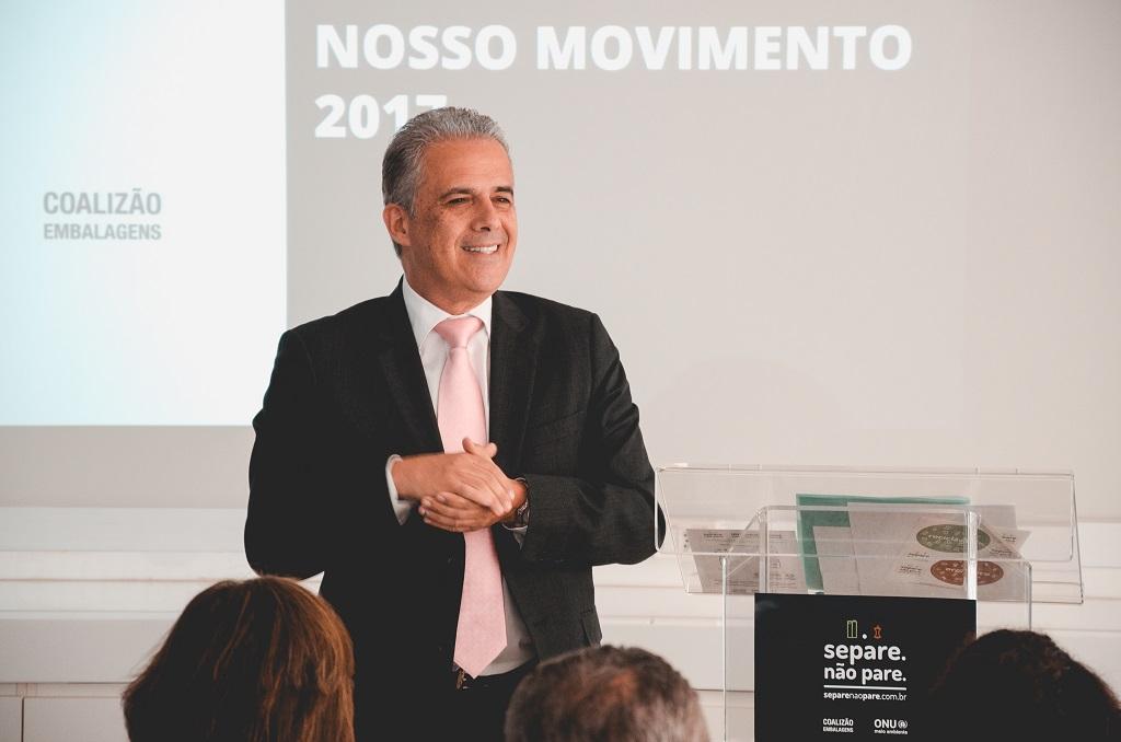 Victor Bica, presidente Cempre - Crédito: Wilk Nobre