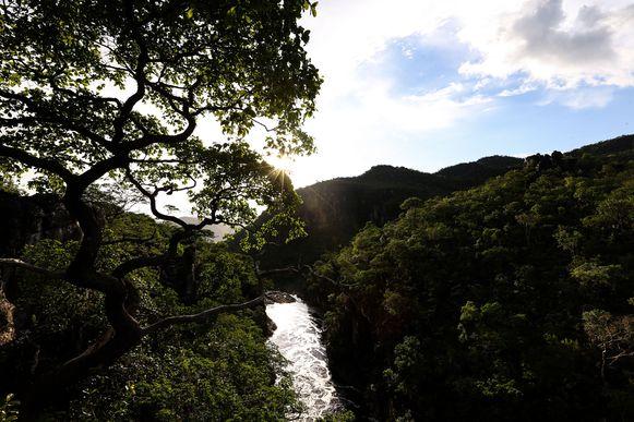Alto Paraíso (GO) - Vista a partir do ponto conhecido como carrossel, no Parque Nacional da Chapada dos Veadeiros (Marcelo Camargo/Agência Brasil)