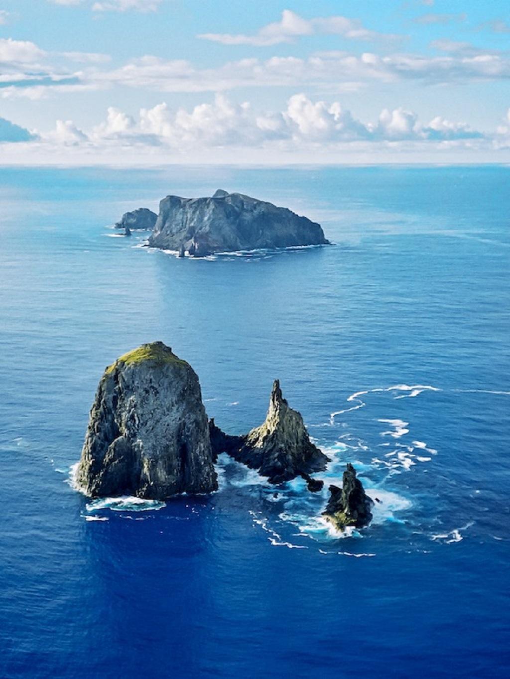 Arquipélago de Martin Vaz, as ilhas brasileiras mais distantes da costa e um dos locais estudados na pesquisa João Luiz Gasparini