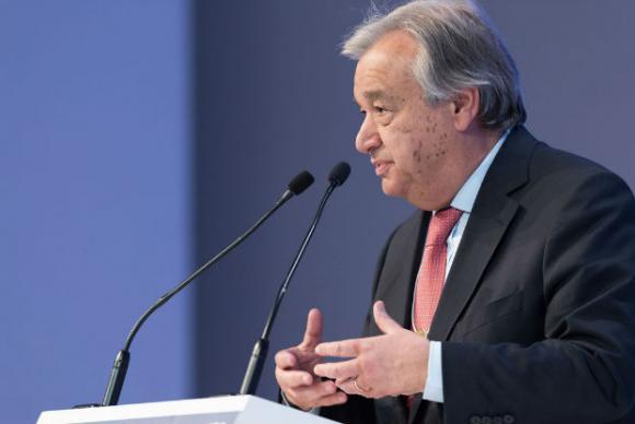 António Guterres, secretário-geral da ONUONU/Divulgação